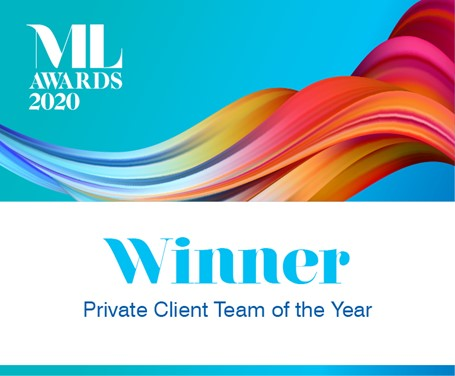 Private Client Team of the Year winner.jpg